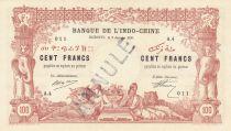 Djibouti 100 Francs 1920 - Annulé - Spécimen - p.Neuf