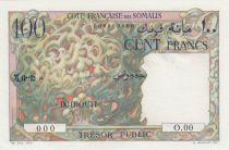 Djibouti 100 Francs Corail-  ND 1952 - Spécimen