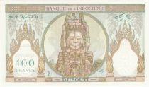 Djibouti 100 Francs Ruines d\'Angkor - ND (1931) Spécimen