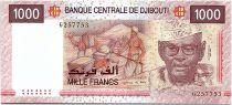 Djibouti 1000 Francs - A.A. Ouddoun - Harbor - 2005 - UNC - P.42a
