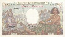 Djibouti 1000 Francs ND1938 - Specimen - P.10s