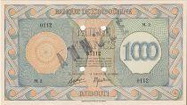Djibouti 1000 Francs Palestinian printing - 1945 Specimen M.2 - AU - P.18