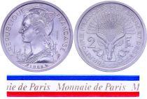 Djibouti 2 Francs - 1968 - Test Strike - Afars and Issas (Djibouti)