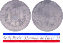 Djibouti 2 Francs - 1977 - Test strike