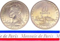 Djibouti 20 Francs - 1968 - Test Strike - Afars and Issas (Djibouti)