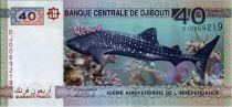 Djibouti 40 Francs  - 40 eme Anniversaire de l\'indépendance - 2017