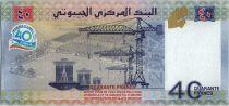 Djibouti 40 Francs  - 40 eme Birthay of  independance - 2017