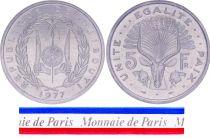 Djibouti 5 Francs - 1977 - Test strike