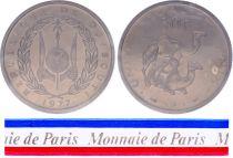 Djibouti 50 Francs - 1977 - Test strike