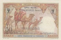 Djibouti 50 Francs Navire -  ND 1952 - Série N.82