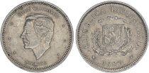 Dominicaine Rép. 10 Centavos Duarte 1983-1987