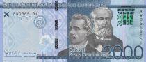 Dominicaine Rép. 2000 Pesos - Prud\'Homme, Reyes - 2017 (2019) - Neuf