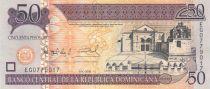 Dominicaine Rép. 50 Pesos Cathédrale - Basilique - 2008 - Neuf - P.176