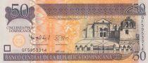 Dominicaine Rép. 50 Pesos Cathédrale - Basilique - 2012 - Neuf - P.183b