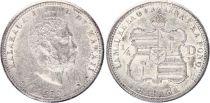 Dominicaine République 10 Centisimos Armoiries - 1891 A