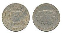 Dominicaine République 25 Centavos Soeur Mirabal - 1983-1987