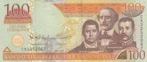 Dominican Rep. 100 Pesos - Duarte, Sanchez, Mella - 2013 - UNC - P.184c