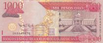 Dominican Rep. 1000 Pesos National Palace - Alcazar - 2010- UNC - P.180