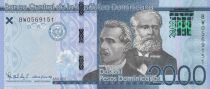 Dominican Rep. 2000 Pesos - Prud\'Homme, Reyes - 2017 (2019) - UNC
