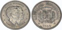 Dominican Rep. 5 Centavos Sanchez Mella 1983-1987