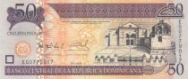 Dominican Rep. 50 Pesos Basilica - Cathedral - 2008 - UNC - P.176