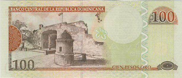 Dominican Republic 100 Pesos Oro Oro, Duarte, Sanchez, Mella