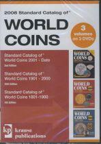 DVD 3 VOL. Standard Catalog of World Coins 2008