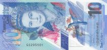 East Caribbean States 10 Dollars Elizabeth II - Polymer - 2019 - UNC