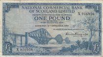 Ecosse 1 Pound - 16-09-1960 - Pont, Armoiries