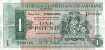 Ecosse 1 Pound - Armoirie - Bateaux - 01/03/1961
