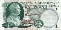 Ecosse 1 Pound - David DALE - Banques - 1967