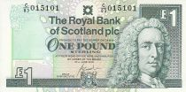 Ecosse 1 Pound - Lord Ilay - Château Edinbourg - 2000