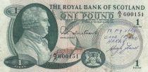 Ecosse 1 Pound 1967 p327
