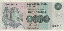 Ecosse 1 Pound 1971 p204a