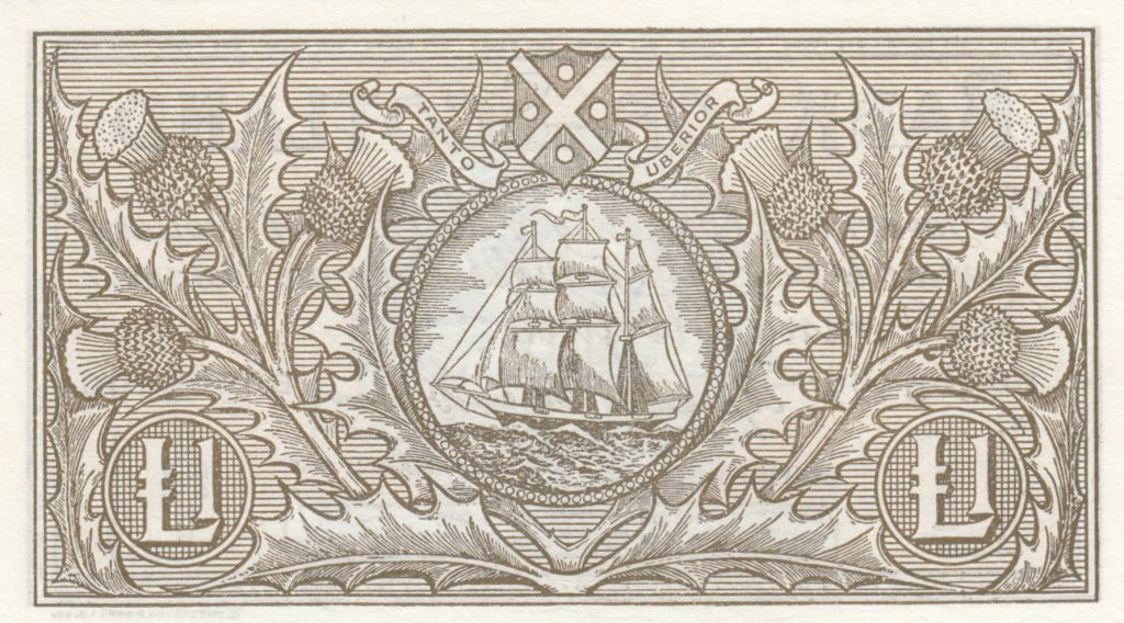Ecosse 1 Pound Bank of Scotland - 1955 - p.NEUF - P.100a