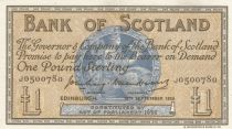 Ecosse 1 Pound Bank of Scotland - 1956 - p.NEUF - P.100b
