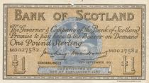 Ecosse 1 Pound Bank of Scotland - 1956 - TTB - P.100b