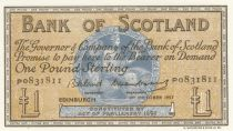 Ecosse 1 Pound Bank of Scotland - 1957 - SPL - P.100c