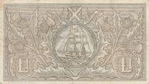 Ecosse 1 Pound Bank of Scotland - 1957 - TTB - P.100c