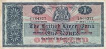 Ecosse 1 Pound British Linen Bank - 01-07-1963 - TTB - P.166c