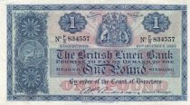 Ecosse 1 Pound British Linen Bank - 10-12-1957- TTB + - P.157d