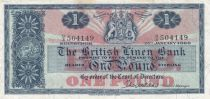 Ecosse 1 Pound British Linen Bank - 25-01-1966 - TTB - P.166c