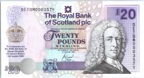 Ecosse 1 Pound Lord Ilay - Château Edinbourg - 2000