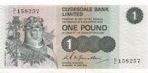 Ecosse 1 Pound Robert le Bruce - Scène de bataille - 01-05-1972 - TTB+