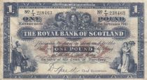 Ecosse 1 Pound Royal Bank of Scotland - 1941 - p.TTB - P.332a
