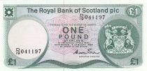 Ecosse 1 Pound Royal Bank of Scotland - 1985 - Neuf - P.341b