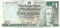 Ecosse 1 Pound Royal Bank of Scotland - Château  - 1987 - Neuf - P.346