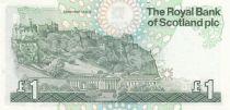 Ecosse 1 Pound Royal Bank of Scotland - Château  - 1987 - Neuf - P.346