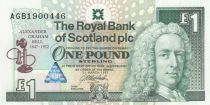 Ecosse 1 Pound Royal Bank of Scotland - Graham Bell - 1994 - Neuf - P.359