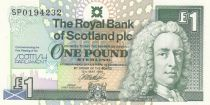 Ecosse 1 Pound Royal Bank of Scotland - Parliament - 1999 - UNC - P.360
